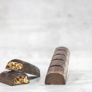 Crunchy Hazelnut Bars